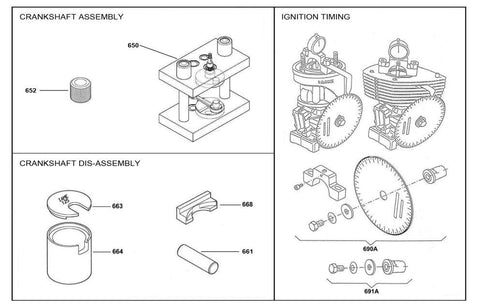 Crankshaft Assembly/Disassembly Timing Control Group - KA100