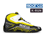 Sparco Kart Boot K-RUN Black | Yellow (NRGR)