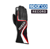 Sparco Kart Gloves Record Black | Red