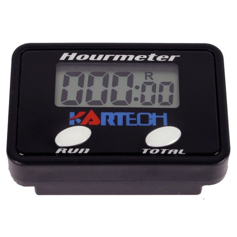 Hourmeter Digital 2 or 4 Stroke - Kartech