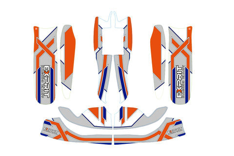 Exprit Sticker Kit - Rookie 950mm CIK M8 - OTK