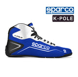 Sparco Kart Boot K-POLE Blue | White (NRAZ)