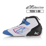 Alpinestars Boots Tech 1-KX Blue | Black | Fuchsia