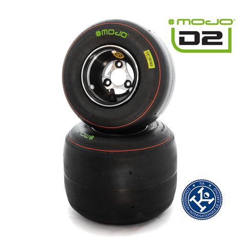 MOJO D2 Junior Max/Senior Max Tyres - Set