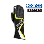 Sparco Kart Gloves Record Black | Yellow