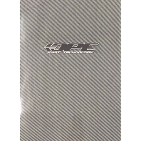 Floor Tray Sticker Carbon Fibre - DPE Kart Technology