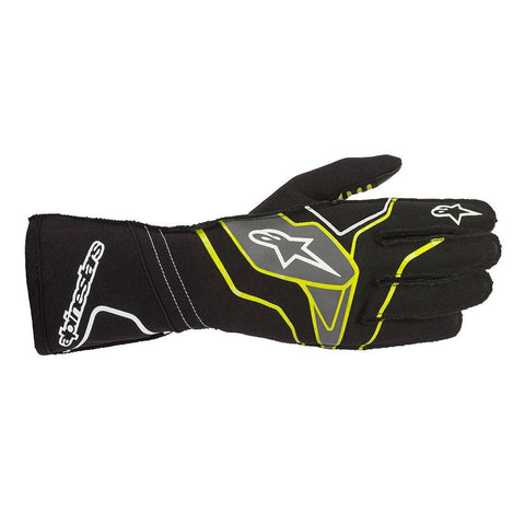 Alpinestar Gloves Tech 1 KX V2 Black | Yellow Fluro | Anthracite