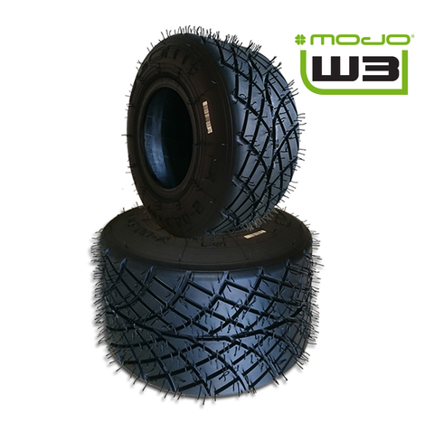 MOJO W3 Junior Max/Senior Max/DD2 Wet Tyres - Set