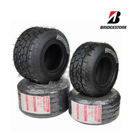 Bridgestone YFD Cadet Wet Tyres - Set