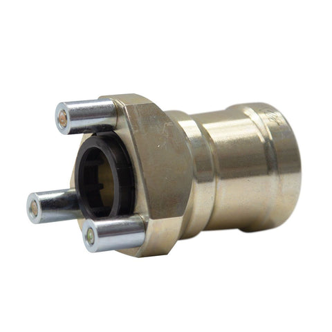 Wheel Hub Front 25mm Magnesium - Arrow/Kartech