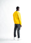 MEN The Velvet Print Sweater - Yellow