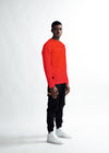 MEN The Dots Print Sweater - Red