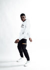 MEN The Full Logo Hoodie - White