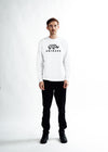 MEN The Full Logo Sweater - White