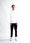 MEN The Dots Hoodie - White