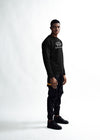 MEN The Full Logo Sweater - Black