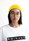 WOMEN Beanie - Yellow