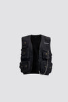 MEN The Safari Vest - Black