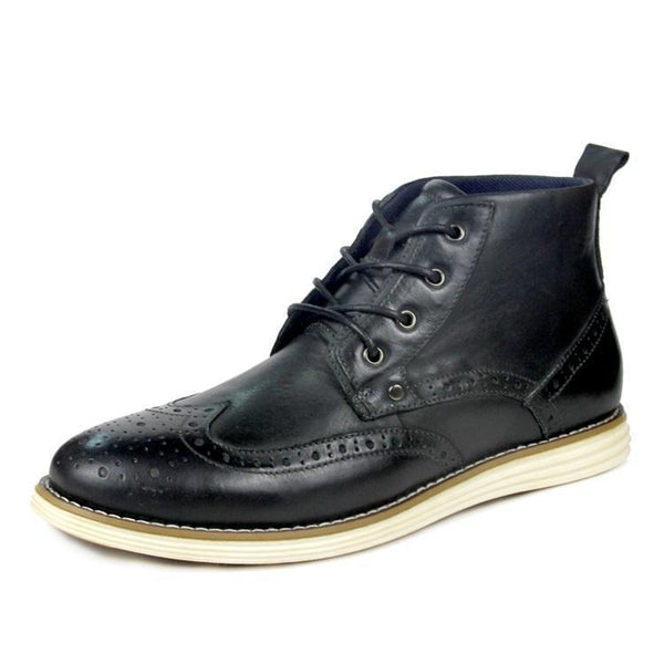 Men's Genuine Leather Causal Boots