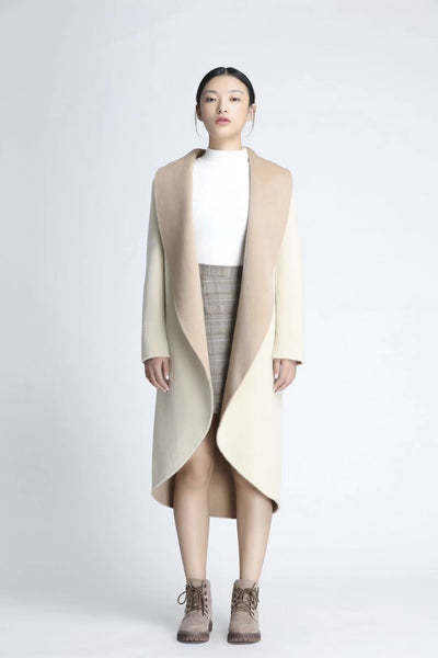 Master Series - Women's Double-sided Wool Overcoat, Created For CKESE