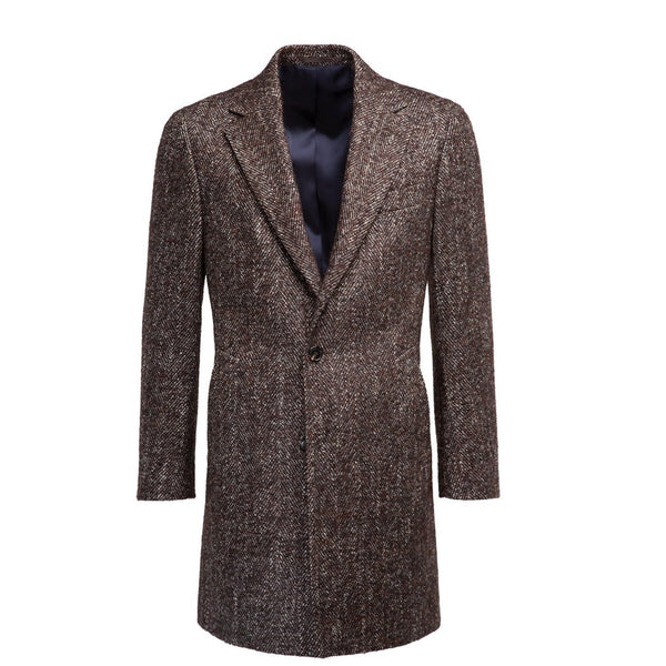 Men's Brown Overcoat