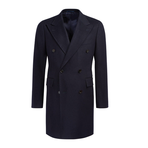 Navy Churchill Reefer Pea Coat