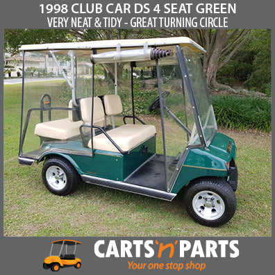 1998 CLUB CAR DS 4 SEAT GREEN