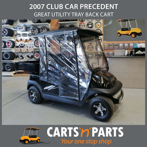 Tray Back Utility MELBOURNE STORE 2007 Club Car Precedent Golf Cart Buggy