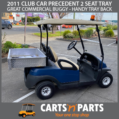 2011 CLUB CAR PRECEDENT 2 SEAT TRAY BLUE (Melbourne Store)