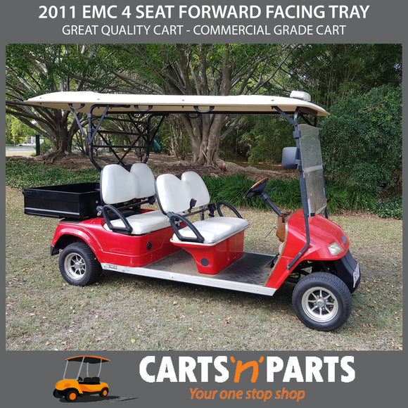 2011 EMC 4 SEAT FORWARD FACING TRAY BACK
