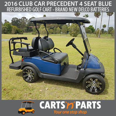 2016 CLUB CAR PRECEDENT 4 SEAT BLUE