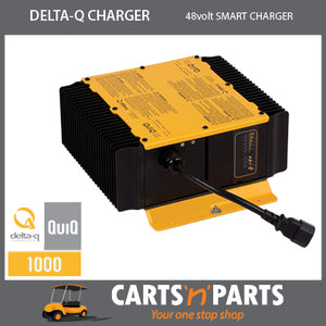 Delta Q Charger 48 volt Golf Cart ON or OFF Board NO recepticle plug