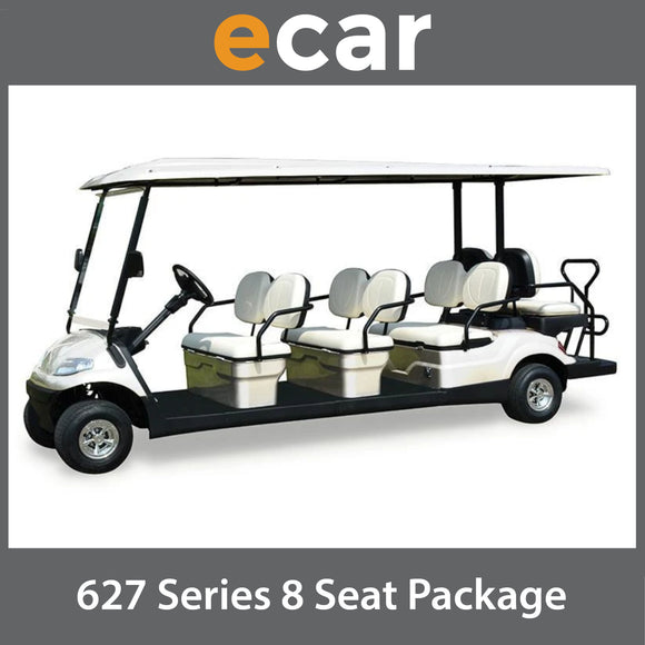 ECAR 627 Series 8 Seat NEW GOLF CART Buggy Package
