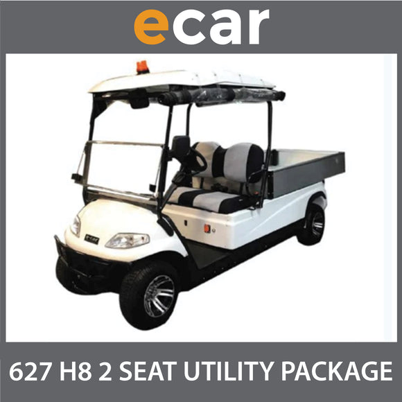 ECAR 627 H8 Large UTE TIPPER TRAY Back LWB Golf Cart Buggy Package