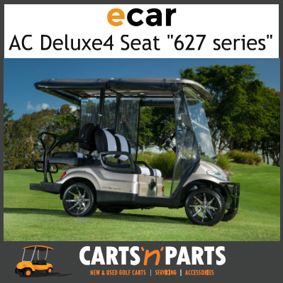 Ecar AC POWER DELUXE 4 Seat NEW GOLF CART Buggy 627 Series Full Deluxe Package Champagne-New Golf Carts-Carts N Parts