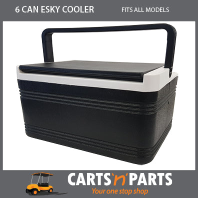 6 CAN LARGE ESKY COOLER FOR GOLF CART BUGGY