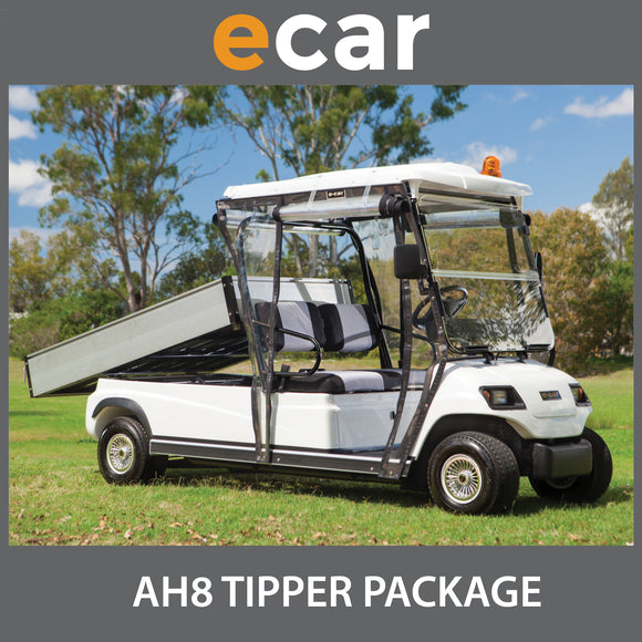 ECAR Long Wheel Base Utility Golf Cart Buggy AH8