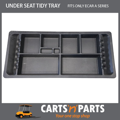 GOLFERS UNDER SEAT TIDY TRAY FOR ECAR A SERIES
