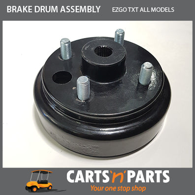 EZGO TXT REAR BRAKE DRUM ASSEMBLY GOLF CART BUGGY