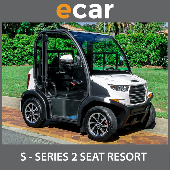 ECAR S Series 2 Seat Enclosed Golf Cart Buggy