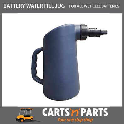 Battery Water Fill Bottle manual with spring loaded nozzle