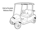 CLUB CAR PRECEDENT FRONT BUSH KIT GOLF CART BUGGY