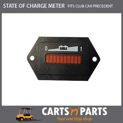 CLUB CAR PRECEDENT STATE OF CHARGE METER 48v