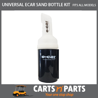 SAND BOTTLE and HOLDER SET with BOLTS for GOLF CART BUGGY