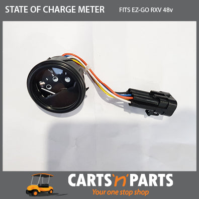 EZGO RXV STATE OF CHARGE METER 48v