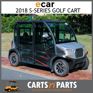 S4 DB - 4 SEAT Electric Vehicle Lvtong maintence free batteries 12volt x 4, 2 x folded side mirrors, Fabric Floor mat, Dust cover, Full light kit-New Golf Carts-Carts N Parts