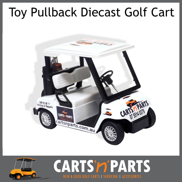 TOY Golf Cart pull back Diecast motor CARTSNPARTS-Parts & Accessories-Carts N Parts