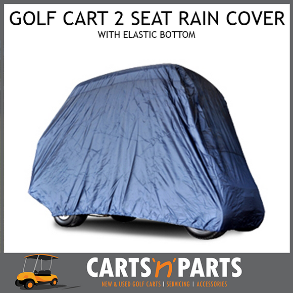 Rain Cover 2 Seat Elastic Bottom BLUE Golf Cart Buggy-Parts & Accessories-Carts N Parts