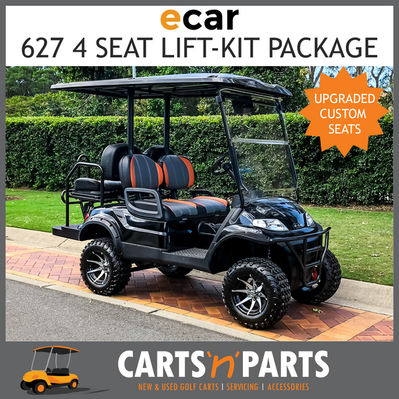 ECAR 627 4 Seat Lift Kit Package Golf Cart Buggy