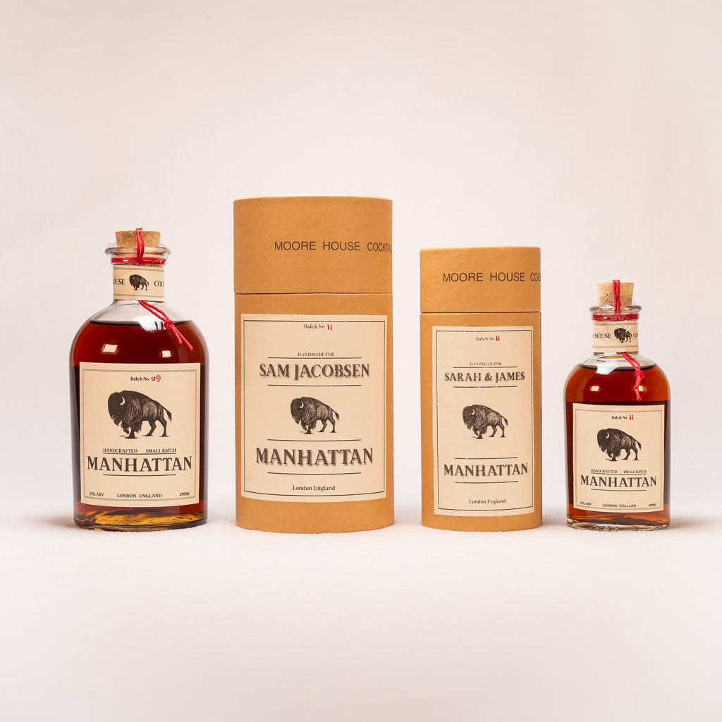 Personalised Manhattan 250 ML Three Servings